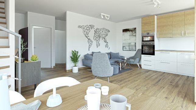 Osiedle Leszczyce mieszkanie 83 m z ogródkiem 2 miejsca postojowe