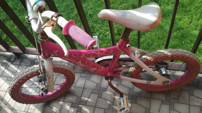Rowerek dla dziewczynki barbie