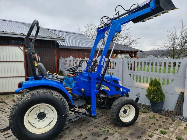 Mini traktor,New Holland 40KM,ogrodniczy,maly traktorek,ładowacz