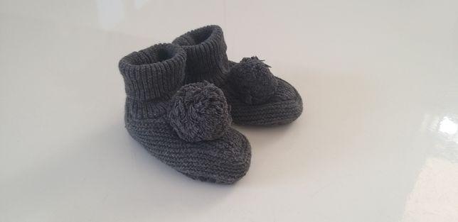 Kapcie zimowe ocieplane niemowlęce H&M
