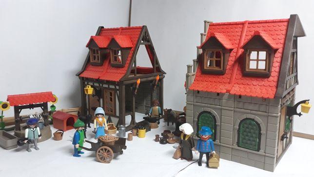 Playmobil Domki, miasteczko
