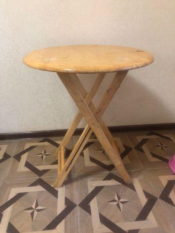 Портативный/складной/походный деревянный круглый стол/столик