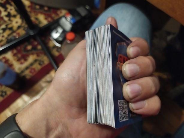 Обмен карточки АТБ арена