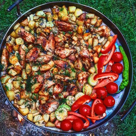 Сковорода з диску борони Садж