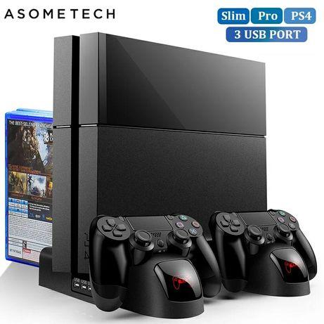 Ładowarka,stojak PS4/PS4 Slim/PS4 PRO
