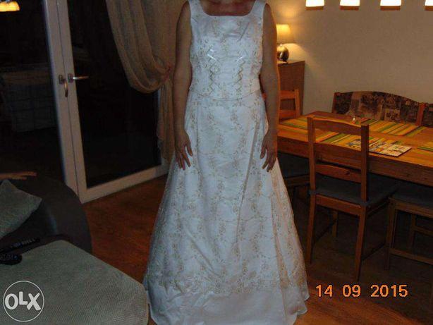 Suknia ślubna 38 biała