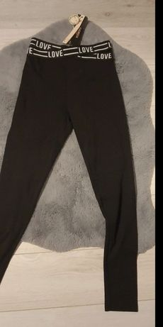 Spodnie leginsy nowe