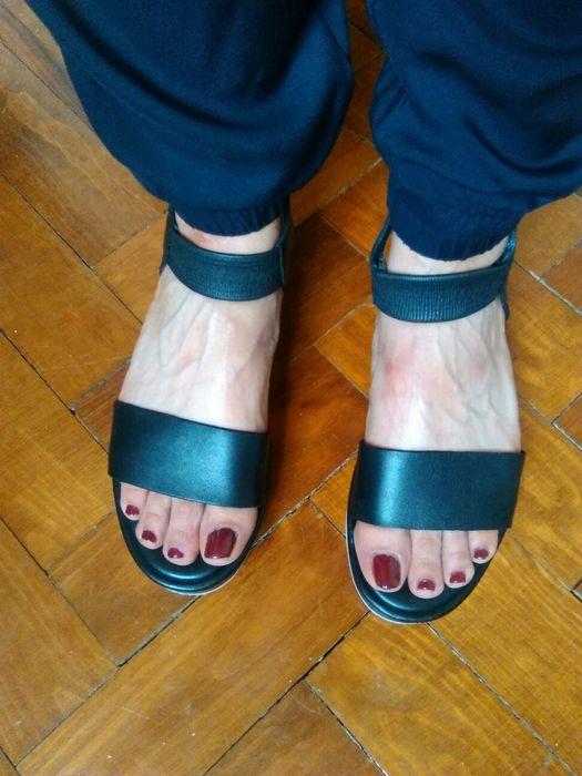 Sandálias pretas da COS impecáveis Arroios - imagem 1