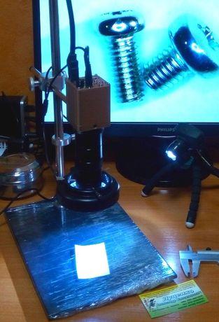 ВИДЕО МИКРОСКОП ремонтный электронный цифровой для пайки ремонта цена