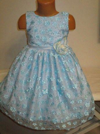 Нарядное фирменное платье на 4-5лет