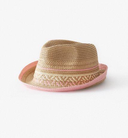 Соломенная шляпа,панамка,кепка ZARA (М-54см) на 5-6 лет