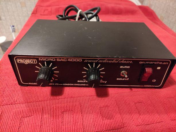 Sterownik Kolorofon Project micro Sac 4000 vintage audio lata 80-te