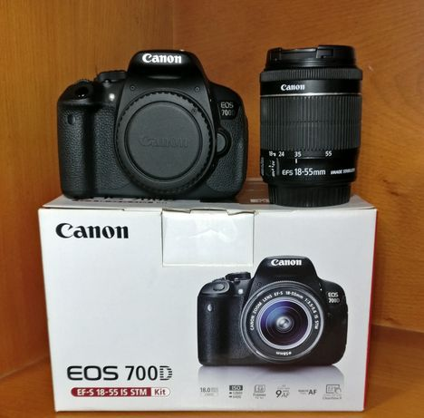 Canon EOS 700D + EF-S 18-55mm f/3.5-5.6 IS STM
