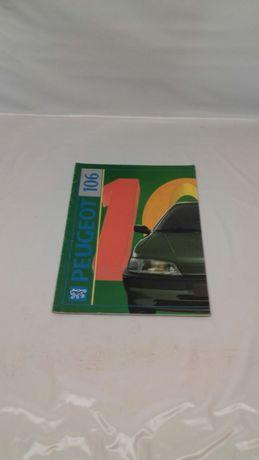 Catálogo Peugeot 106 inclui XSI