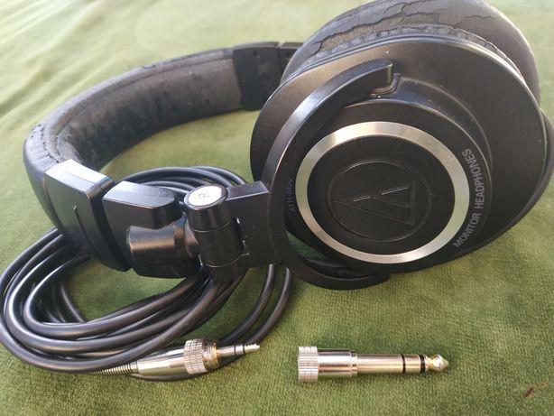 Наушники audio technica ATH M50