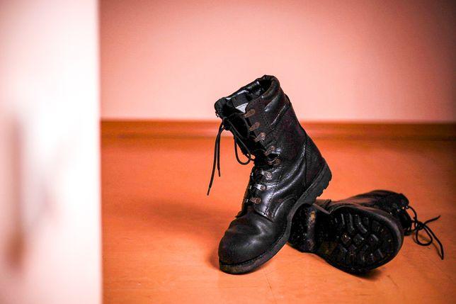 Buty wojskowe, skoczki desanty, rozmiar 41