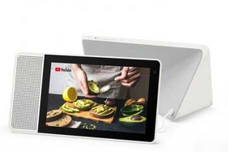 """Lenovo Smart Display 8"""" com google assistant como novo"""