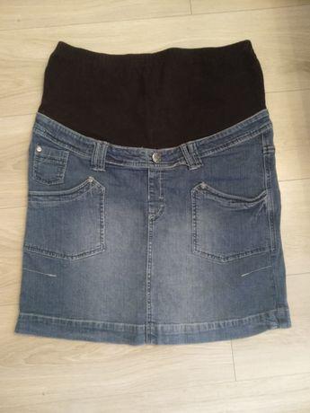 Spódnica ciążowa jeansowa