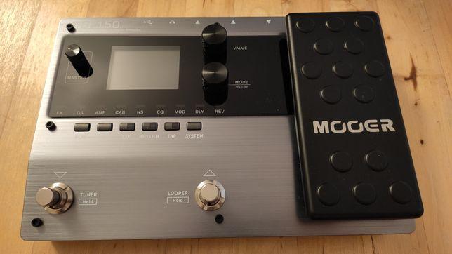 Mooer GE150 Gwarancja multiefekt praktycznie nowy