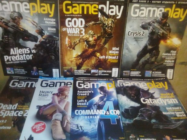 """ Gameplay"" - "" PC GAMER "" + постеры + диски одним лотом."