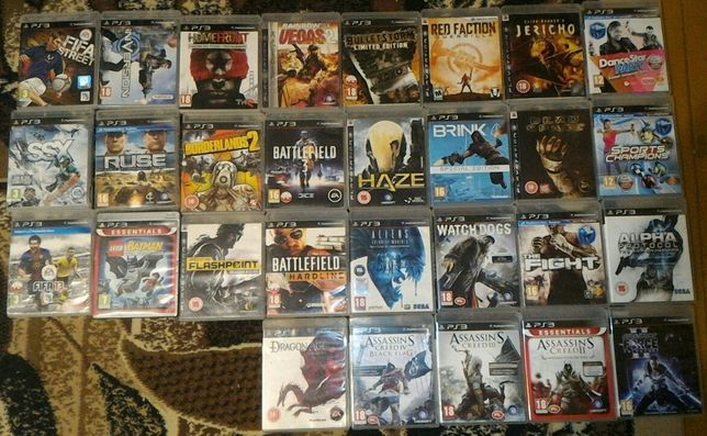 Zamienię gry na PlayStation 3, SONY PS3
