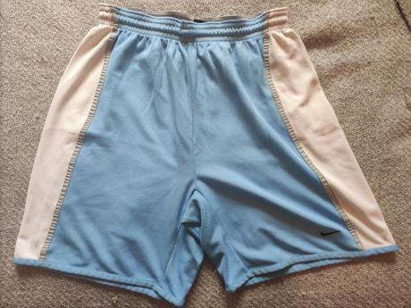 Calções Desporto Nike Azuis Bebé e branco Tamanho L