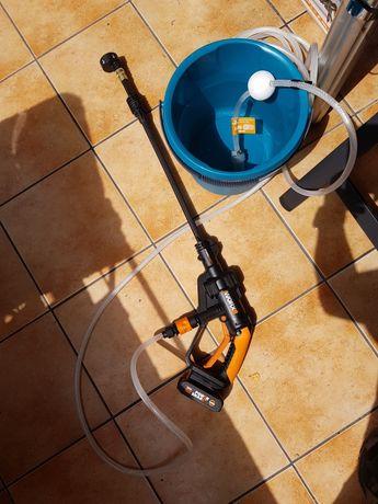 Urządzenie myjące bez kabla i wody sieciowej Worx