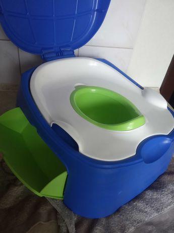 Детский горшок и сиденье для унитаза, 2 в 1