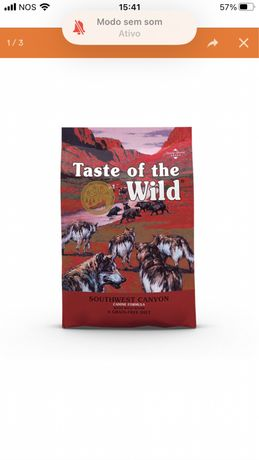 Ração Cão Taste of the Wild