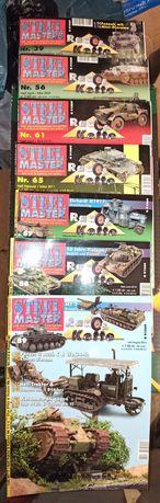 Steel Master Magazine deutsch Nr. 39,56,61,65,87,88,89.