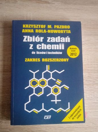 Pazdro chemia zbiór zadań