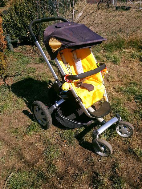 Quinny buzz 4! Czarno-żółta spacerówka/wózek!