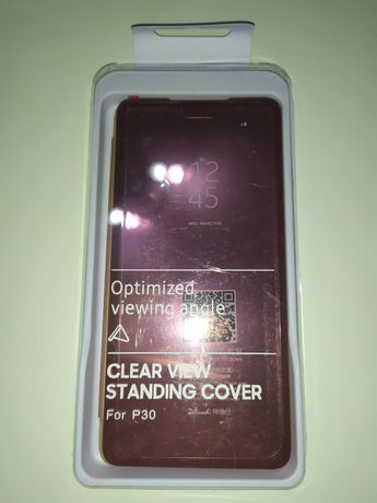 Etui Clear View standing Cover HUAWEI P30