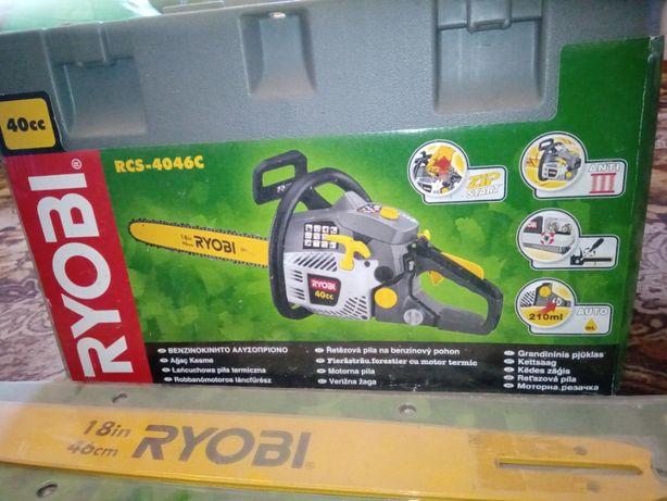 Новая Цепная бензопила Ryobi RCS-4046C