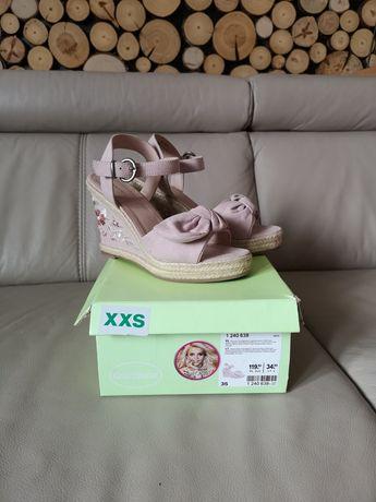 Nowe sandały deichmann