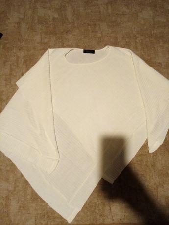 Uniwersalne poncho, sweterek