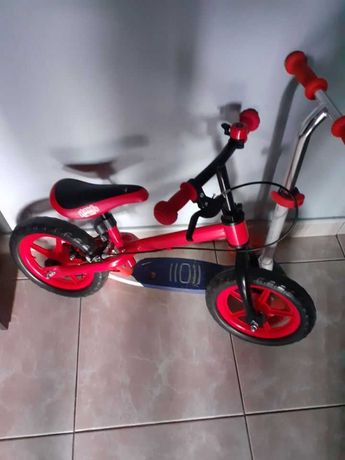 Rower biegowy z hamulcem