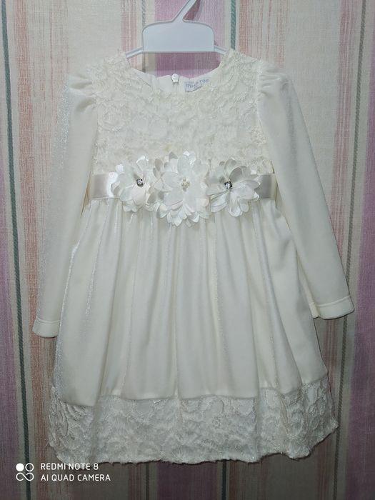 Нарядное платье для малышки Донецк - изображение 1