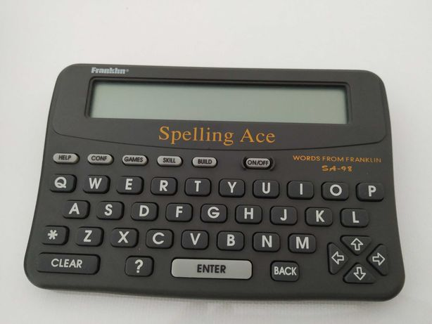 Franklin Electronic Spelling Ace SA-98
