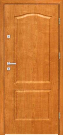 Drzwi wejściowe ZEWNĘTRZNE do mieszkania z montażem.