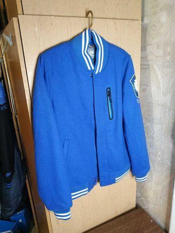 nike bomber destroyer college jacket wool шерсть DRILL куртка  S