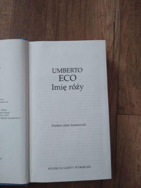 Książka Imię Róży Umberto Eco