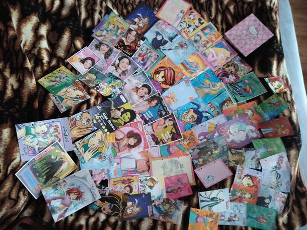 Karteczki do segregatora do zbierania segregowania kolekcji