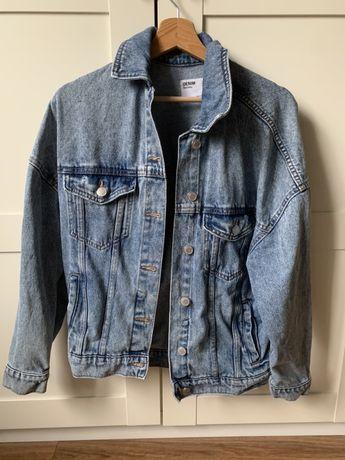 Kurta jeansowa oversize Bershka