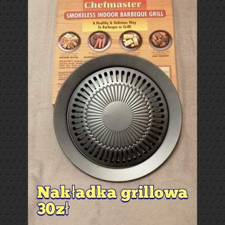 Nakładka grill grillowa na kuchenkę