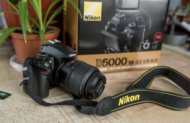 Nikon D5000 18-55VR Kit Як новий!