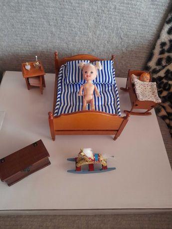 Mebelki dla lalek -sypialnia(9)