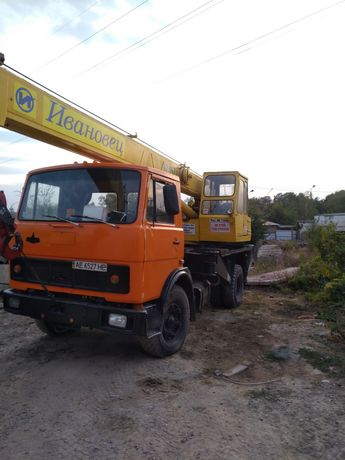 Продам автокран МАЗ 5337 КС 3577