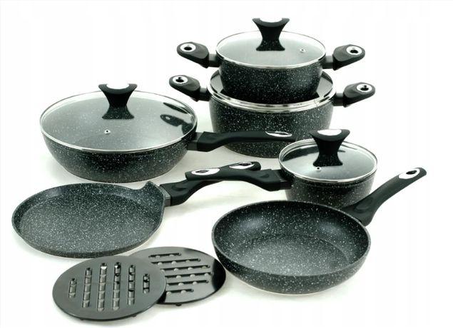 Набір посуду з мармуровим покриттям  12 предметів