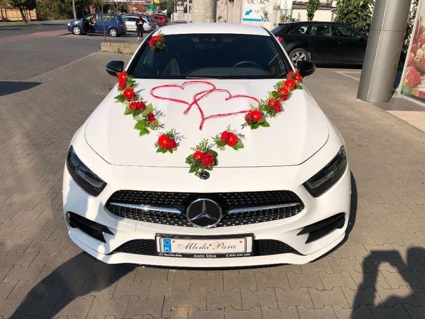 Mercedes CLS do ślubu